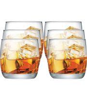 Jogo de Copos de Whisky New York On The Rocks 225ml 6 Pcs