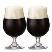 Jogo de Taça de Cerveja Bock Cristal 380ml 2 Pcs