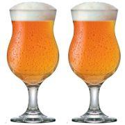 Jogo de Taça de Cerveja Vidro Tulipa Panamá 400ml 2 Pcs