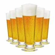 Taça de Cerveja de Cristal Arena P 275ml 6 Pcs