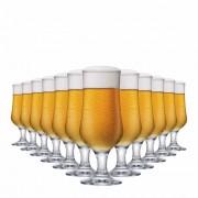 Taça de Cerveja de Vidro Barcelona G 370ml 12 Pcs