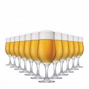 Taça de Cerveja de Vidro Berlin 330ml 12 Pcs