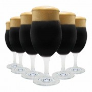 Jogo de Taças Cerveja Dark Bier Cristal 440ml 6 Pcs