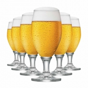 Taça de Cerveja de Cristal Deister P 345ml 6 Pcs