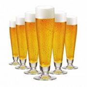 Taça de Cerveja de Cristal Halle 385ml 6 Pcs