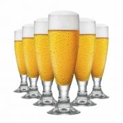Taça de Cerveja de Cristal Heroldik 330ml 6 Pcs