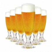 Jogo de Taças Cerveja Heroldik Cristal 330ml 6 Pcs