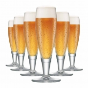 Taça de Cerveja de Cristal Minialsdorf 145ml 6 Pcs