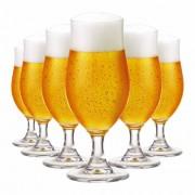 Jogo de Taças Cerveja Nevada P Cristal 325ml 6 Pcs