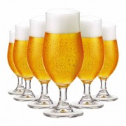Taça de Cerveja de Cristal Nevada P 325ml 6 Pcs