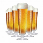 Jogo de Taças Cerveja Prestige P Cristal 325ml 6 Pcs