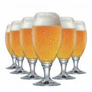 Jogo de Taças Cerveja Sevilla G Vidro 530ml 6 Pcs