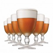 Taça de Cerveja de Cristal Trappisten 460ml 6 Pcs