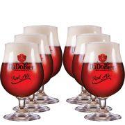 Jogo de Taças de Cerveja Cristal Dado Bier Red Ale 400ml 6 Pcs