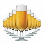 Taça de Cerveja de Vidro Blumenau 300ml 12 Pcs