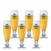Jogo de Taças de Cerveja Frase Potts Pokal .30 Cristal 485ml