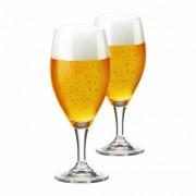 Taça de Cerveja de Cristal Holsten 400ml 2 Pcs