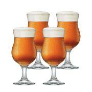 Jogo de Taças de Cerveja Panama Vidro 400ml 4 Pcs