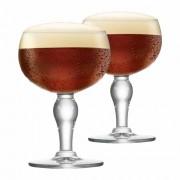 Taça de Cerveja de Cristal Rochefort 445ml 2 Pcs