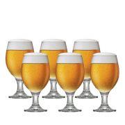 Jogo de Taças Cerveja Roma P Vidro 310ml 6 Pcs