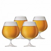 Taça de Cerveja de Cristal Snifter 760ml 4 Pcs