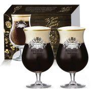 Jogo de Taças de Cerveja Double Bock 2 pçs 600ml QE