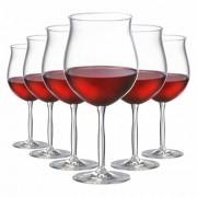 Jogo de Taças de Vinho Tinto Bordeaux Gran Cristal 675ml 6 Pcs