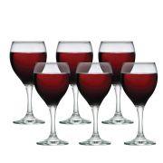 Taça de Vinho Tinto de Vidro de Akron 335ml 6 Pc