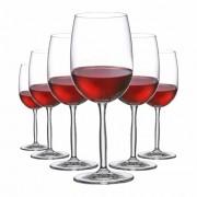Taça de Vinho Tinto de Cristal Ritz 485ml 6 Pcs