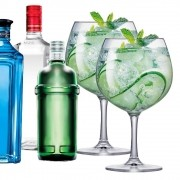 Taça de Gin Cristal Club 660ml 2 Pcs