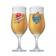 Jogo de Taças para Cerveja Frases Rótulo Berlin 330ml 2 Pcs