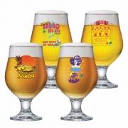 Jogo de Taças Vidro Beer Master Mamonas Assassinas 4 pcs