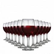 Jogo de Taças Vinho Roma Vidro 250ml 12 Pcs