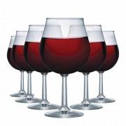 Jogo de Taças Vinho Tinto Antuerpia Vidro 505ml 6 Pcs