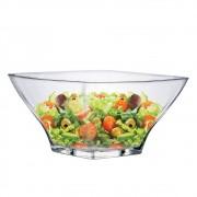 Saladeira Quadrada de Vidro Ruvolo Stephanie G 2700ml