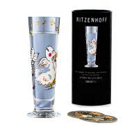 Taça de Schnapps Cristal Ritzenhoff Glass Dominika Prybylska 2008 40ml
