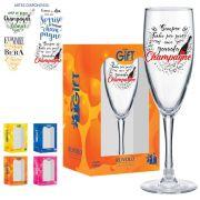 Taça Bourbon Champagne Vidro 150ml