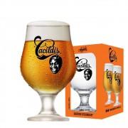 Taça de Cerveja Beer Cacildis Vidro 380ml