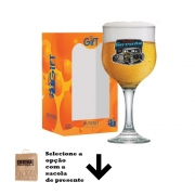Taça de Cerveja com Frases Carro Motors Garage Barcelona 300ml