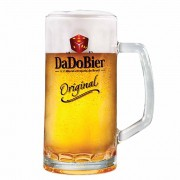 Caneca de Cerveja Chopp Dado Bier Original Vidro 385ml
