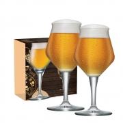 Taça de Cerveja de Cristal Beer Sommelier Alta 430ml 2 Pcs