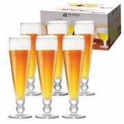 Taça de Cerveja de Cristal Futebol Ferrara 375ml 6 Pcs