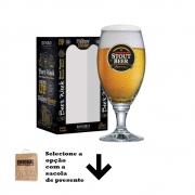 Taça de Cerveja Rótulo Frases Stout Beer Sevilla G 530ml