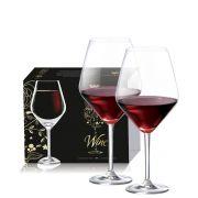 Taça de Cristal para Vinho Tinto Elegance de 780ml 2 pçs