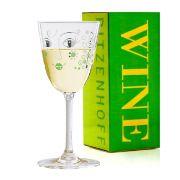 Taça de Vinho Branco Cristal Ritzenhoff Whitewine Glass Michaela Koch 2010 200ml