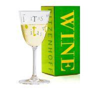 Taça de Vinho Branco Cristal Ritzenhoff Whitewine Glass Ulrike Vater 2010 200ml