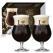 Taça Double Bock Crystal I Love Craft Beergold 2 pcs C/ Emb Unit