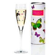 Taça para Prosecco Cristal Ritzenhoff Glass Jutta Bucker 2012 160ml