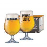 Taças Bock Festival da Cerveja Germania/Perro Libre 380ml