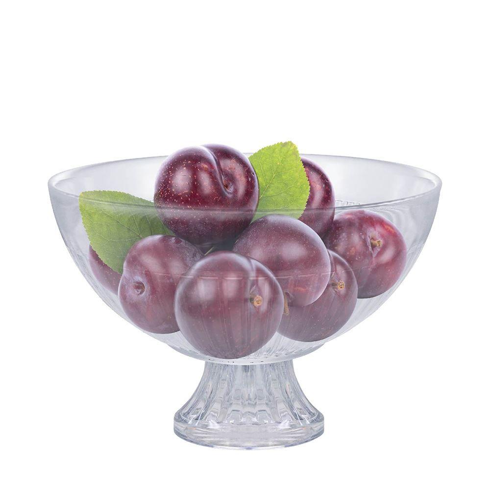 Bowl de Vidro / Tigela Gourmet com Pé Ruvolo